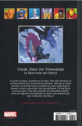 Verso de Marvel Comics - La collection (Hachette) -13088- Thor Dieu du Tonnerre - Le Boucher des Dieux