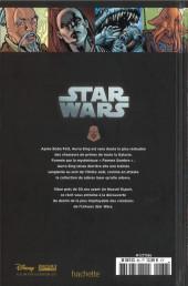 Verso de Star Wars - Légendes - La Collection (Hachette) -86VIII- Le Coté Obscur - VIII. Aurra Sing
