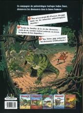 Verso de Les dinosaures en bande dessinée -5- Tome 5