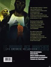 Verso de Le pouvoir des Innocents (Cycle III - Les enfants de Jessica) -3- Sur la route