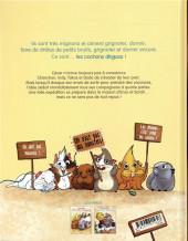 Verso de Les cochons dingues -2- Tome 2