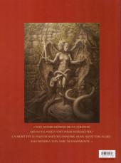 Verso de Les chevaliers d'Héliopolis -3- Rubedo, l'œuvre au rouge