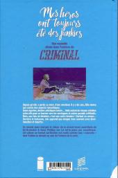 Verso de Criminal -HS- Mes héros ont toujours été des junkies