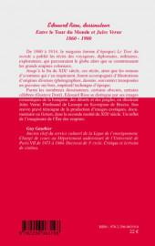 Verso de (DOC) (biographies, entretiens...) - Édouard Riou, dessinateur
