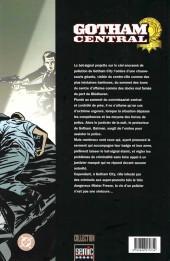Verso de Gotham Central -1- Dans l'exercice de ses fonctions