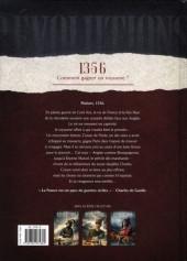 Verso de Révolutions (Quand l'Histoire de France a basculé) -3- 1356