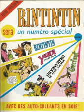Verso de Rin Tin Tin & Rusty (2e série) -40- Une étrange filon
