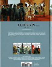 Verso de Les grands Personnages de l'Histoire en bandes dessinées -5- Louis XIV - Tome 2