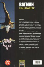 Verso de Batman : Halloween -1- Tome 1