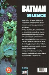Verso de Batman : Silence -1- Silence 1