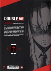 Verso de Double.Me -3- Tome 3