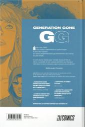 Verso de Génération Gone - GG -1- Tome 1