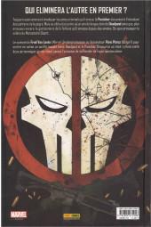Verso de Deadpool vs Punisher