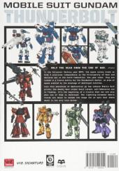 Verso de Mobile Suit Gundam - Thunderbolt -1- Tome 1