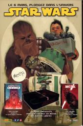 Verso de Star Wars (Panini Comics - 2017) -12CV01- Mutinerie sur mon cala