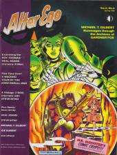 Verso de (DOC) Comic Book Artist -4- Comic Book Artist n°4/ Alter Ego vol. 2 n°4