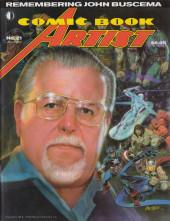 Verso de (DOC) Comic Book Artist -21- Adam Hughes/ John Buscema