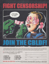 Verso de (DOC) Comic Book Artist -2.6- Will Eisner