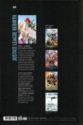 Verso de Justice League Rebirth -6- Le procès de la ligue de justice