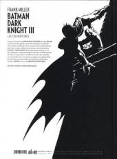Verso de Batman - Dark Knight III -HS- Les couvertures