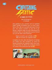 Verso de Capitaine Static -5- La Bande des trois