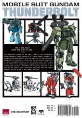 Verso de Mobile Suit Gundam - Thunderbolt -3- Tome 3