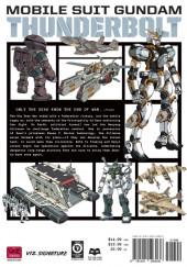 Verso de Mobile Suit Gundam - Thunderbolt -5- Tome 5