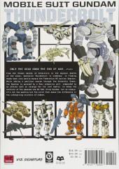 Verso de Mobile Suit Gundam - Thunderbolt -6- Tome 6
