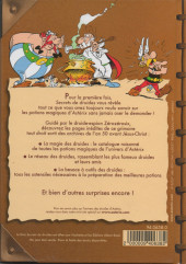 Verso de Astérix (Autres) - Astérix présente : Secrets de Druides