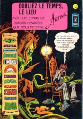 Verso de Étranges aventures (1re série - Arédit) -59- Maximort pour un mini-héros