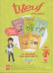 Verso de Titeuf (Publicitaire) -Quick2- Titeuf et les copains