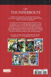 Verso de Marvel Comics : Le meilleur des Super-Héros - La collection (Hachette) -82- Les thunderbolts