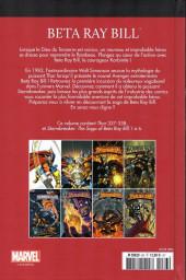 Verso de Marvel Comics : Le meilleur des Super-Héros - La collection (Hachette) -83- Beta ray bill