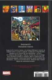 Verso de Marvel Comics - La collection (Hachette) -13196- Infinty - Première Partie