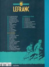 Verso de Lefranc - La Collection (Hachette) -15- El paradisio
