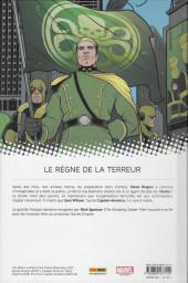 Verso de Captain America : Steve Rogers -4- Secret empire