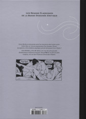 Verso de Les grands Classiques de la Bande Dessinée érotique - La Collection -7616- Liz et Beth - Tome 5