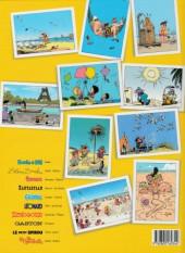 Verso de Les albums de l'été -5- Vacances entre copains