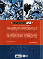 Verso de (DOC) Études et essais divers -a- Comics USA, histoire d'une culture populaire
