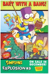 Verso de Simpsons Illustrated -26- Ho-ho-homer!