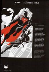 Verso de DC Comics - La légende de Batman -Premium02- Batman - Tome 2 - Le Garde du corps