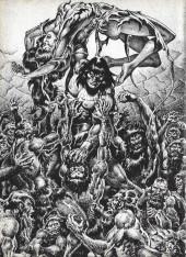 Verso de Savage Sword of Conan The Barbarian (The) (1974) -121- The Fountain of Umir