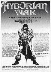 Verso de Savage Sword of Conan The Barbarian (The) (1974) -148- Besieger of Cities