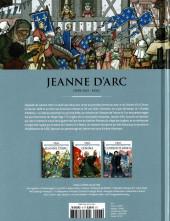 Verso de Les grands personnages de l'histoire en bandes dessinées -6- Jeanne d'Arc