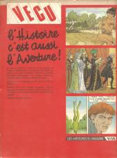 Verso de (Recueil) Vécu (Album du journal) -8- Recueil des numéros 34-35-36