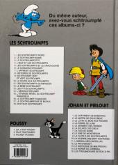 Verso de Johan et Pirlouit -9d2018- La flûte à six schtroumpfs