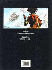 Verso de Dragger -1- Les mangeurs de sable