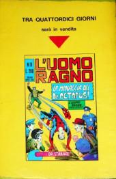 Verso de L'uomo Ragno V1 (Editoriale Corno - 1970)  -9- Un Uomo chiamato Electro!