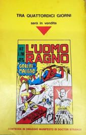 Verso de L'uomo Ragno (Editoriale Corno) V1 -11- La Sfida di Mysterio!