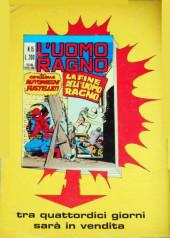 Verso de L'uomo Ragno V1 (Editoriale Corno - 1970)  -14- I Sinistri Sei